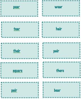 Intermediate Phonics  word sort   /ur/ and /ar/
