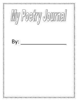 Intermediate Poetry Journal