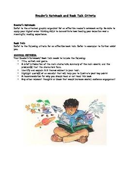 Intermediate Readers Notebook