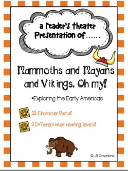 Intermediate Reader's Theater Social Studies Mega Bundle!