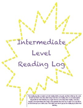 Intermediate Reading Log