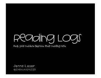 Intermediate Reading Logs