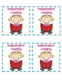 Intermediate Reading Station Cards