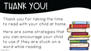 Intermediate Reading Strategies: A Paperless Digital Parent Handout