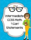 "Intermediate School (3rd, 4th, 5th) :BUNDLE MATH CCSS ""I C"
