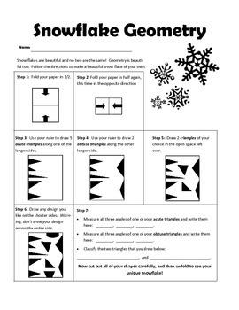 Intermediate Snowflake Geometry Project