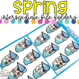 Intermediate Spring File Folders for Special Education