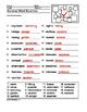 Intermediate Summer Word Scramble Printable
