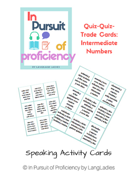 Intermediate Telephone Number Quiz Quiz Trade Cards