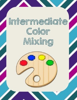 Intermediate Tertiary Color Mixing Art Activity