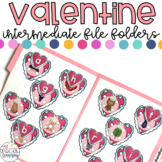 Intermediate Valentine's Day File Folder for Special Education