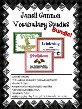 Janell Cannon Bundle