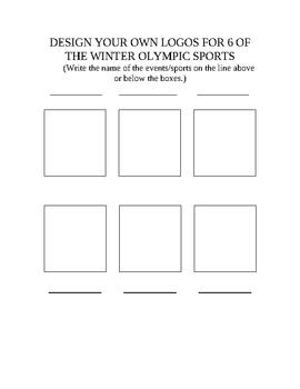 Intermediate Winter Olympics Packet