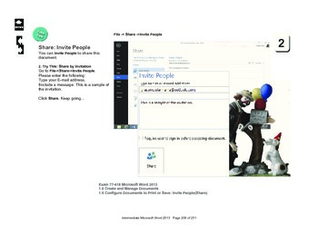Microsoft Word 2013: Post to a Social Network