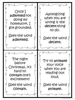 "Word Work and Vocabulary 5-Day Intermediate Unit ""DECONTAMINATE"""