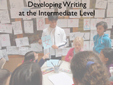 Intermediate Writing in the Chinese Classroom Ppt