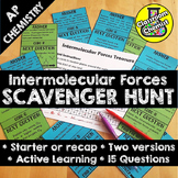Intermolecular Forces Treasure Hunt