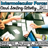 Intermolecular Forces - Card Sort Activity