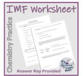 Intermolecular Forces Practice Worksheet