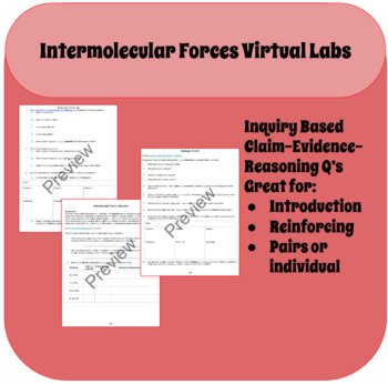 Intermolecular Forces Virtual Labs