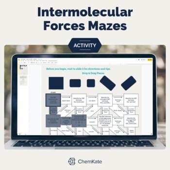 Intermolecular Forces Worksheet Mazes - 3 Levels
