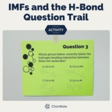 Intermolecular Forces and Hydrogen Bonding Review: 10-Question Trail