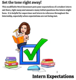 Intern Expectations