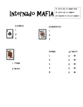 Internado-Themed Mafia Game