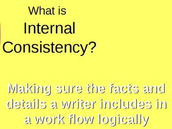 Internal Consistency run amok!