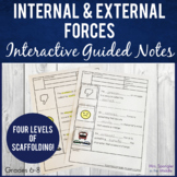 Internal & External Forces Pixanotes®