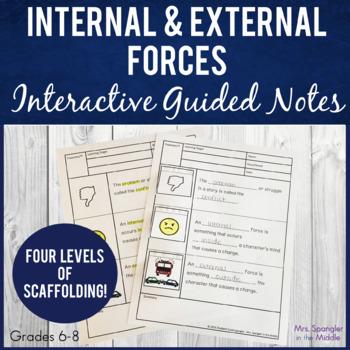 Internal & External Forces Pixanotes™ - 6th gr. Springboard 2.2