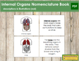 Internal Organs Nomenclature Book (Red)