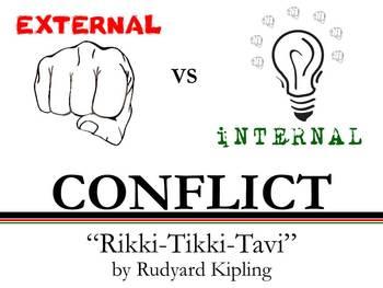 Internal and External Conflict - Rikki-Tikki-Tavi