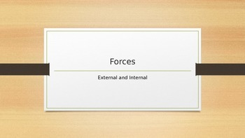 Internal and External Forces PowerPoint