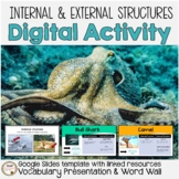 External and Internal Structures of Animals Digital Activi
