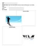Internal vs. External Conflict Graphic Organizer