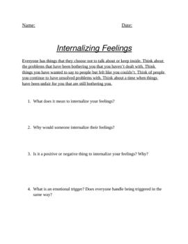 Internalizing Feelings