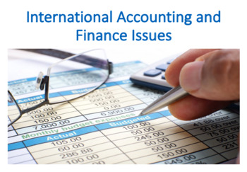 International Accounting and Finance Issues (International Business)