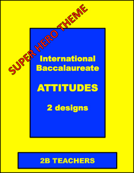 International Baccalaureate ATTITUDES