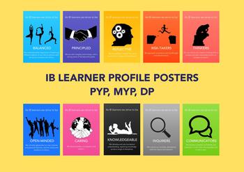 International Baccalaureate (IB) Learner Profile Posters P