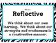 International Baccalaureate IB Learner Profiles Posters- ZEBRA (Large Print)
