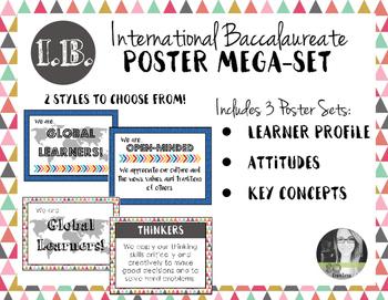 International Baccalaureate IB Poster MEGA-SET (Profile, A
