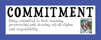 International Baccalaureate (IB) Primary Years Program (PYP) Attitudes Word Wall