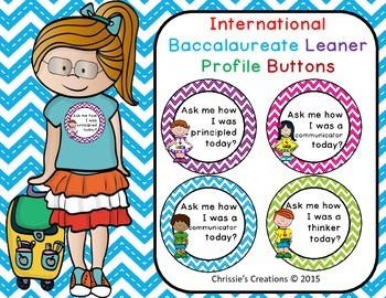 International Baccalaureate IB buttons