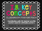 International Baccalaureate Key Concepts Chalkboard and Brights Style