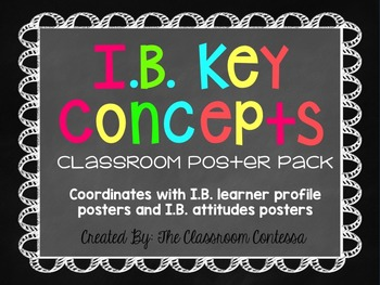 International Baccalaureate Key Concepts Chalkboard and Br