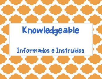 International Baccalaureate Learner Profile Resource Pack-English and Spanish