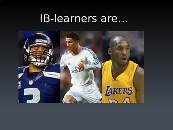 International Baccalaureate- Sports Themed Learner Profile Posters