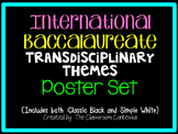 International Baccalaureate Transdisciplinary Theme Poster Set