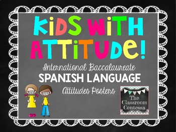 International Baccalaurette SPANISH Attitudes Poster Pack